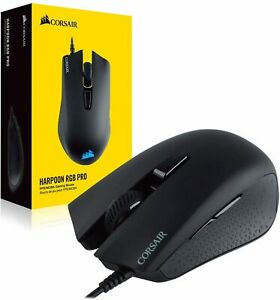 Corsair Wired Mouse - Harpoon RGB Pro PC New