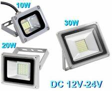 Faro Faretto LED Lampada 10W 20W 30W DC 12V 24V per Impianti Solari Fotovoltaico