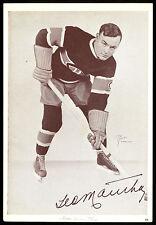 1935-40 STARCH CROWN BRAND 60 GEORGES MANTHA EX+ MONTREAL CANADIENS HOCKEY PHOTO