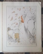 A SUITE OF 8 LITHOGRAPHS, by Marcel Vertes - c.1941 Signed in Plate, Folio Size