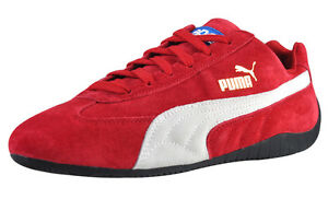 Neuf Chaussures PUMA Speed Cat SD Baskets Homme Cuir Sparco