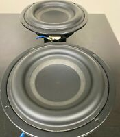 """2 TWO units Car Audio Subwoofer Speaker Tang Band W6-1139SI 6-1/2"""" Bass driver"""