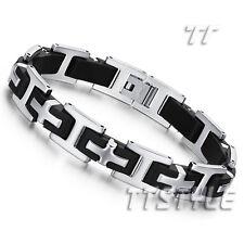 Fashion TTstyle Stainless Steel Cross Bracelet Wristband