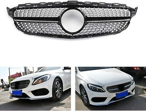 Mercedes Benz C Class W205 2013 2014 2015 2016 Diamond Grille