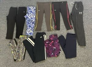 Under Armour Leggings Womens Size Medium Cropped Leggings Lot Of 10!