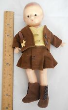 Vintage Effanbee Patsyette Doll Tagged Glad Togs 5Pc Outfit Scotty Dogs Applique