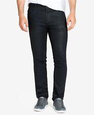 WILLIAM RAST 135431 Men's Dark Grey 'Hollywood' Slim-Fit Stretch Jeans Sz 34