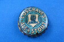 COSGRAVE'S STOUT , TORONTO CORK LINED BOTTLE CAP