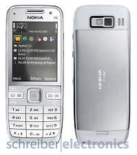 Nokia E52 Handy weiß (weiss white) vom Händler mit Rechnung Ohne Simlock