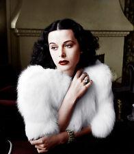 "Hedy Lamarr UNSIGNED 10"" x 8"" photograph - D1548 - BEAUTIFUL!!!!!"