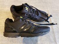 Adidas ZX Flux Torsion size 2 (34) black lace up textile trainers