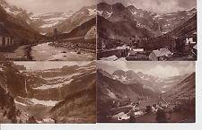 Lot 4 cartes postales anciennes GAVARNIE le cirque 6