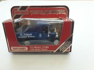 """MATCHBOX -- LIMITED EDITION -- MODELS OF YESTERYEAR -- Y12 MODEL """"T"""" FORD TRUCK"""