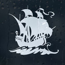 Sailing Frigate Battle Ship Car Decal Vinyl Sticker