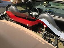AWSOME New RED Tinted Wind Screen Air Restrictor Saturn SKY Pontiac SOLSTICE