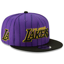 Los Angeles Lakers LA New Era 9FIFTY NBA City Edition Snapback Cap Hat Series