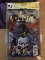 Detective Comics #1 SS/CGC 9.8 AllNew52 Signed Tony S Daniel (1st Print) NM/Mint