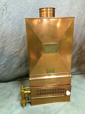 Chauffe bain a pression ancien En cuivre breveté S.G.D.G Paris