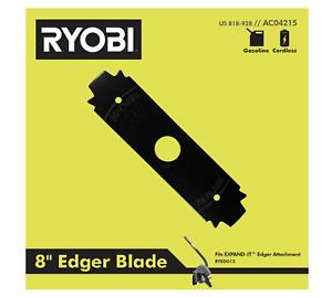 RYOBI 8 inch Heavy Duty Edger Blade