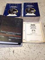 1999 Ford EXPLORER MERCURY MOUNTAINEER Service Shop Repair Manual Set W PCED TSB