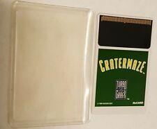 Cratermaze Hu Juego de Cartas con/para Turbo Grafx 16 Consola Nunca Jugado G15