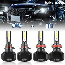 H11 9005 Combo LED Headlight Hi/Lo Bulbs for 2012-2017 Dodge Ram 1500 2500 3500