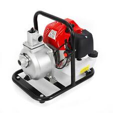 1 Gasoline Water Pump 2 Stroke 17hp Gas Powered Semi Trash Water Transfer Pump
