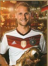 Limited, Limitierte Edition DFB Autogrammkarte! Benedikt Höwedes!! RAR!!, Gold