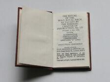 Masonic Domatic Royal Arch Ritual - 1961 edition (STFH)
