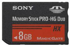 8 GB Memory Stick Pro Duo Speicherkarte Pro - HG Duo Sony HX für Digital Kamera
