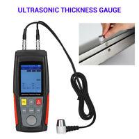 WT100A Digital Handheld Ultrasonic Thickness Gauge Sound Velocity Tool Tester