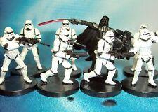 Star Wars Miniatures Lot  Darth Vader Elite Stormtrooper !!  s97