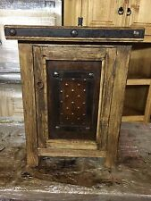 Rustic Bath / Bathroom Wood Vanity for Single Vessel Sink