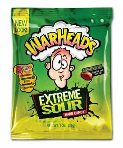 Warheads Extreme Sour Hard Candy - American sweets - USA Warheads Sour Candy 28g