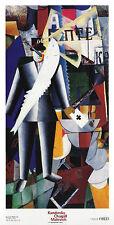 Kasimir Malewitsch L aviatore Poster Bild Kunstdruck 138x71cm - Portofrei