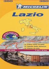 LAZIO (Michelin Local cartes) Régional par MICHELIN Carte Livre 9