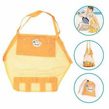 Beach Net Tote Bag for Toys and Accessories Water & Sand Permeable Easy Storage