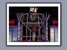 """King Kong 1976 Monster Movie Art Print - Dwan & Kong - Original Signed - 11x14"""""""