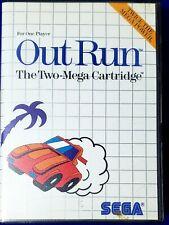 Out Run (Sega Master, 1987)