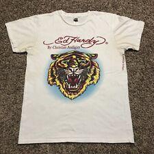 Christian Audigier Ed Hardy Panther T Shirt Size Large White