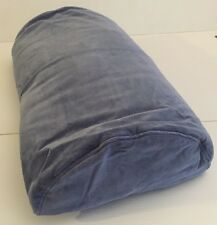 IKEA Replacement Pillow Case For Dreamsweet D-Shape Bolster Roll Pillows Blue
