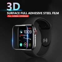 Genuine TEMPERED GLASS Screen Protector For iWatch Apple Watch 44mm Series 5