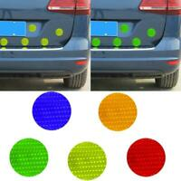 12Pcs/Set Round Car Reflective Sticker Warning Strip Decal For Car Accessories