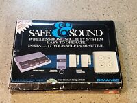 Awesome Safe & Sound RC-2010 Wireless Home Security System complete in box
