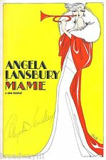 "Angela Lansbury (Signed) ""MAME"" Beatrice Arthur 1966 Tryout Souvenir Program"