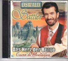 (DM39) Oswald Sattler, Das Herz der Berge - 1999 CD
