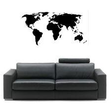 VINILO DECORATIVO PARA PARED CALIDAD EXTRA -MAPA-WORLD MAP-MAPAMUNDI-140x60