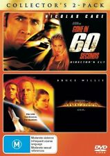 Gone In 60 Seconds  / Armageddon (DVD, 2008, 2-Disc Set) Region 4 VGC Free Post!