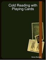 Magic Tricks Psychic Mind Cold Reading Mentalism Card fortune telling CD Ebook