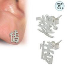 Body jewelry, .925 Sterling silver stud, Ear Stud- S136
